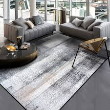 <b>Minimalist modern abstract Chinese</b> ink painting carpet dark grey ...