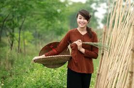 Image result for gái quê miền tây