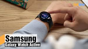 <b>Samsung Galaxy</b> Watch <b>Active</b> — обзор смарт-часов - YouTube