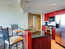 glass kitchen island