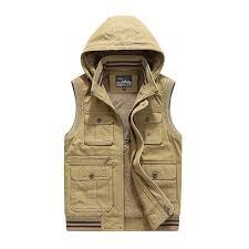 <b>New</b> 2018 Fleece Vest Men Brand Vest Men Military Style Thicken ...