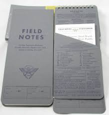 field notes byline reporters notebook review field notes byline reporters edition cover and pocket
