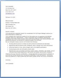 project manager it cover letter resume cover letter in management project manager cover letter examples resume s for management cover letter