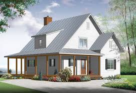 Drummond House Plans Blog   Custom designs and inspirationnal ideasBeautiful  amp  small modern farmhouse house plan