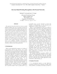 (PDF) On-line hand-<b>printing</b> recognition with <b>neural networks</b>