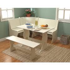 breakfast nook 4 piece corner dining set white walmart in kitchen breakfast nook set breakfast nook furniture set