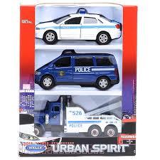 Игровой набор машин <b>Welly Полиция</b> 99610-3A Артикул 404457 ...