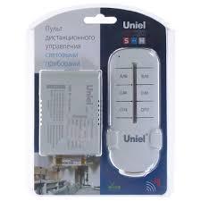 <b>Пульт управления</b> освещением Uniel, 4 канала, 1000 Вт, 30 м в ...