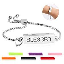 ttstar Essential Oil Diffuser Bracelet - Adjustable Slide ... - Amazon.com