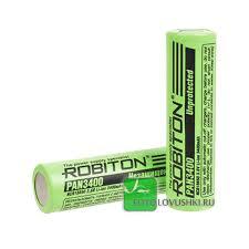 <b>Аккумулятор 18650 ROBITON</b> Li-ion PAN3400 - 450 руб.