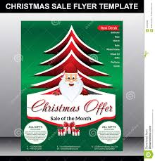 christmas flyer template stock vector image 46435982 christmas flyer template