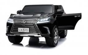 Детский <b>электромобиль Lexus</b> LX570 Black 4WD MP3 - DK-LX570 ...