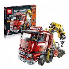 <b>Конструктор</b> Грузовой кран <b>Lepin</b>, арт. <b>20013</b> (Lego <b>Technic</b>, арт ...