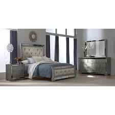 Mirrored Furniture Bedroom Sets Angelina 6 Pc King Bedroom American Signature Furniture Home