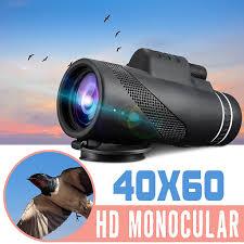 <b>Monocular</b> Telescope <b>40x60</b> HD Vision Adjustable Zoom Optical ...