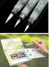 WITUSE WX <b>10PCS</b>/<b>LOT L</b> Size Pilot Water Brush Pen For ...