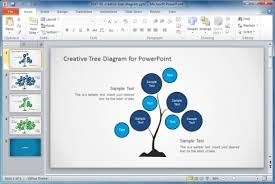 best organizational chart templates for powerpointdownload creative tree diagram powerpoint template