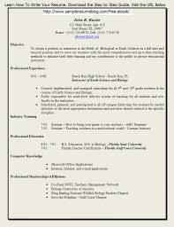 teaching resume format resume format  back