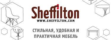 <b>Стеллаж SHT</b>-<b>SS6 черный</b>/<b>хром</b> лак - <b>Sheffilton</b>