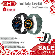 <b>Global Version imilab</b> KW66 Smart Watch Sport Metal Heart Rate ...