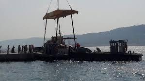 Atatürk'ün gezi teknesi M/G Acar Çanakkale'de