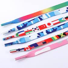 <b>Fashion</b> Rainbow Shoelaces <b>National Flag Printing</b> Sports Shoe ...