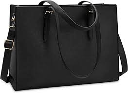 Laptop <b>Bag</b> for Women Waterproof Lightweight <b>Leather</b> 15.6 Inch…