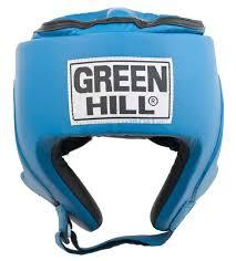 <b>Шлем</b> боксёрский «PRO» искожа, цв: <b>синий</b>, <b>р</b>: XL
