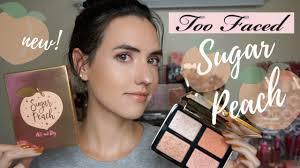 NEW <b>Too Faced</b> Sugar <b>Peach</b> Face & Eye Palette | <b>Peaches and</b> ...