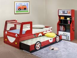 bunk red bedroom ideas bedroom dazzling car themed bunk bed boys bedroom ideas with red stora