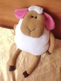 "<b>Подушка</b>-игрушка ""Милая <b>овечка</b>"" – заказать на Ярмарке ..."