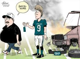 Andy Reid and Nick Foles