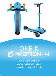 <b>Electric scooters</b> for <b>kids</b> - Globber Hong Kong ONE K E-MOTION 4