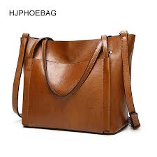 <b>HJPHOEBAG</b> women's bag designer <b>fashion</b> pu leather large size ...