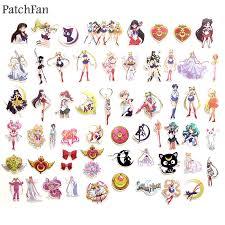 <b>Patchfan</b> 56pcs Sailor moon 90s Art print home decor wall notebook ...