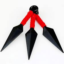 <b>Anime Naruto Set of</b> 3pcs Ninja Weapons Kunai Cosplay Costume ...
