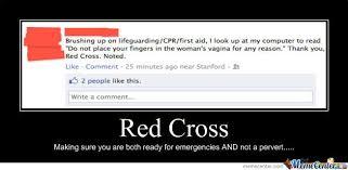 Red Cross by whiplash - Meme Center via Relatably.com
