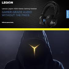 <b>Lenovo Legion H300</b> Stereo Gaming Headset, 3.5mm - Personal ...