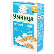 ᐅ <b>Умница Молочная</b> овсяная (с 5 месяцев) 200 г отзывы — 1 ...