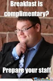 Excited Fat Guy by nickeldude22 - Meme Center via Relatably.com