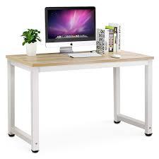 amazoncom  tribesigns computer desk  modern simple office