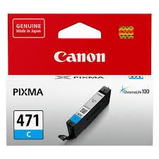 Купить <b>Картридж</b> для струйного принтера <b>Canon CLI</b>-<b>471 C</b> в ...