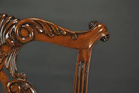 Traditional Dining Room Chairs Chippendale Straight Leg Dining Room Chairs Philidelphia Style