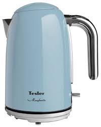Купить <b>Чайник Tesler KT</b>-<b>1755</b>, голубой по низкой цене с ...