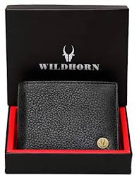 WildHorn® RFID Protected Genuine <b>High Quality</b> Leather Wallet for ...