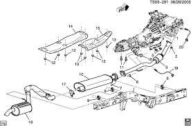 similiar 2003 chevy trailblazer exhaust system keywords exhaust system ll8 4 2s drivelines 2wd 4wd awd ems emission system · 2003 chevy trailblazer exhaust system
