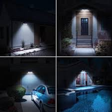 Mpow <b>30 LED</b> Motion Sensor <b>Solar Light</b>, Bright Wall <b>Light</b> ...