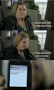 what's up you fat bitch - Last Text Lucy - quickmeme via Relatably.com