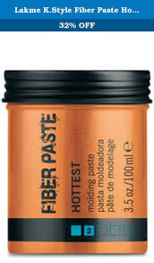 <b>Lakme</b> K.Style <b>Fiber Paste Hottest</b> Molding <b>Paste</b> 3.5 oz. Ultra ...