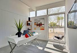 kitty hawk mid sized 1950s home office idea in other with white walls carpet and a buy matrix high office